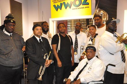 Hot 8 Brass Band. Photo by Kichea S Burt.