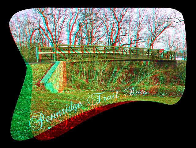 Pennridge Trail Bridge 3D
