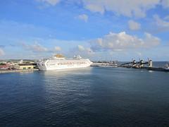 Port in Bridgetown, Barbados