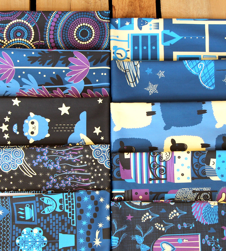 Bedtime Design Challenge Fat Quarter Bundle