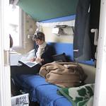 Transsibérien - Dans le train - 2nd classe