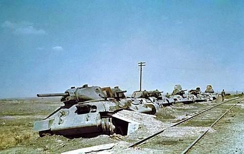 Panzers en Estalingrado