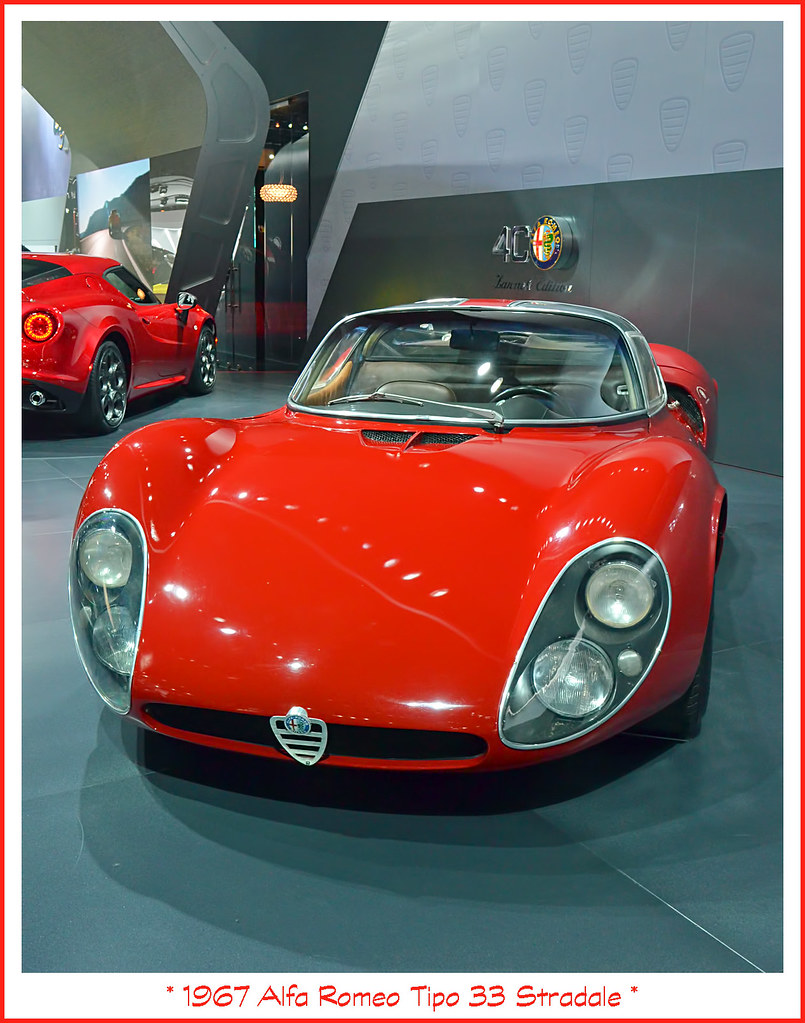 1967 Alfa Romeo Tipo 33 Stradale Visit To The North Americ
