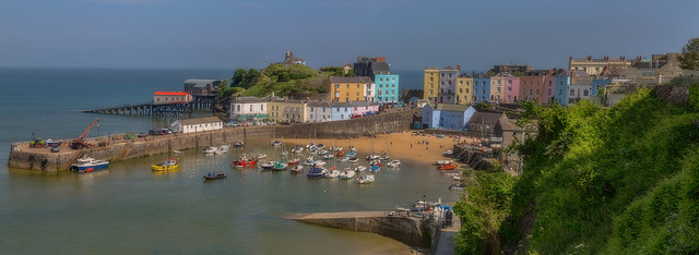 Tenby, S.Wales