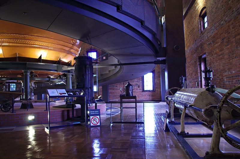 Dans le musée de la bière Sapporo