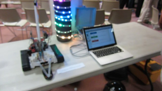 MVI_9393 makerspace robot out of focus 5s