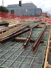 Track Rail Placement, Western Turnaround