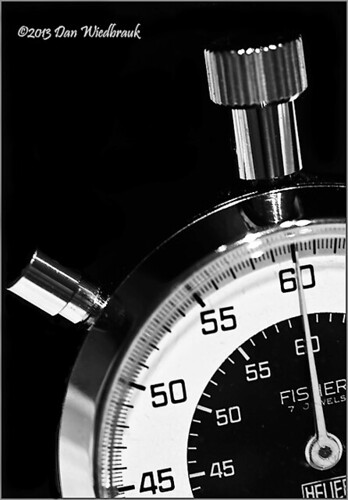 stopwatch IR BW | by One Candle Photos