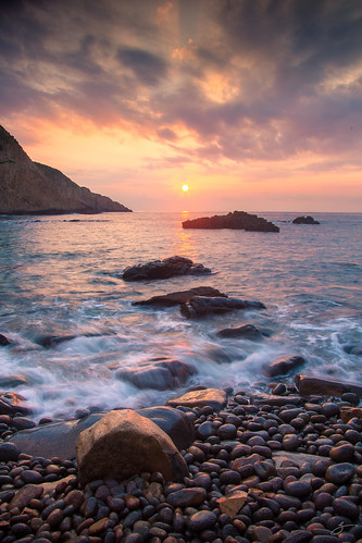 sea seascape water sunrise canon landscape hongkong blackcard 5dmarkiii