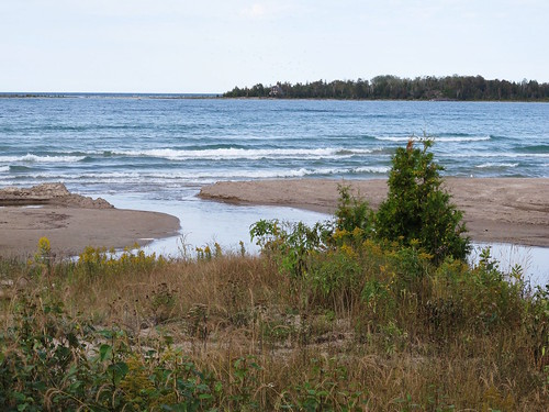 beach water bay sand manitoulin providencebay