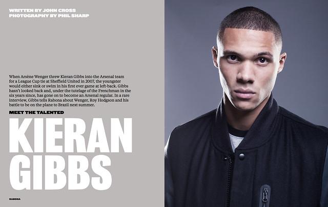 Kieran Gibbs for Rabona Magazine [2]