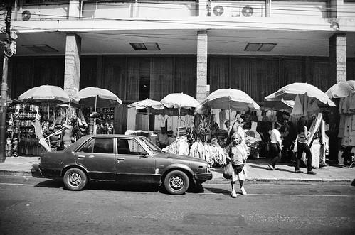 street travel blackandwhite film 35mm downtown asuncion paraguay ilford urbanlandscape paisajeurbano streetvendors