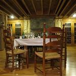 The room, dinner over