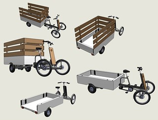 Vrachtfiets-pickup-multi | by @WorkCycles