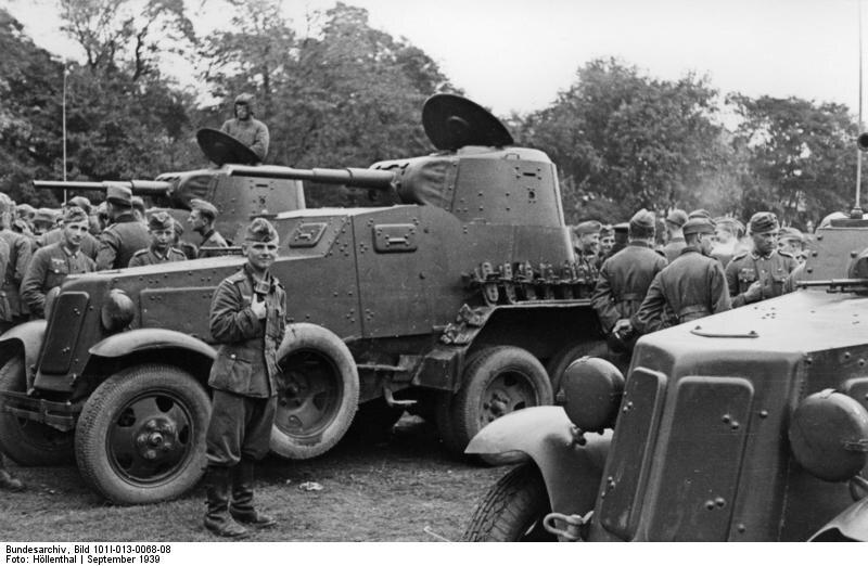 訪問ソビエト装甲車