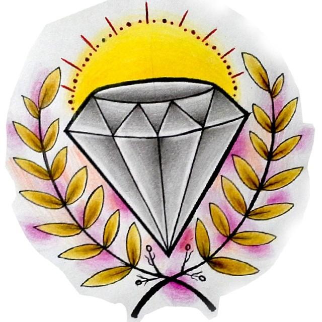 Flash Diamante Disponivel Para Tatuar Diamante Dia Flickr