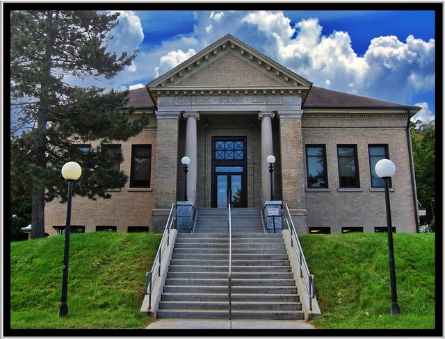 Solvay Public Library ~ Solway New York ~ Historic Building