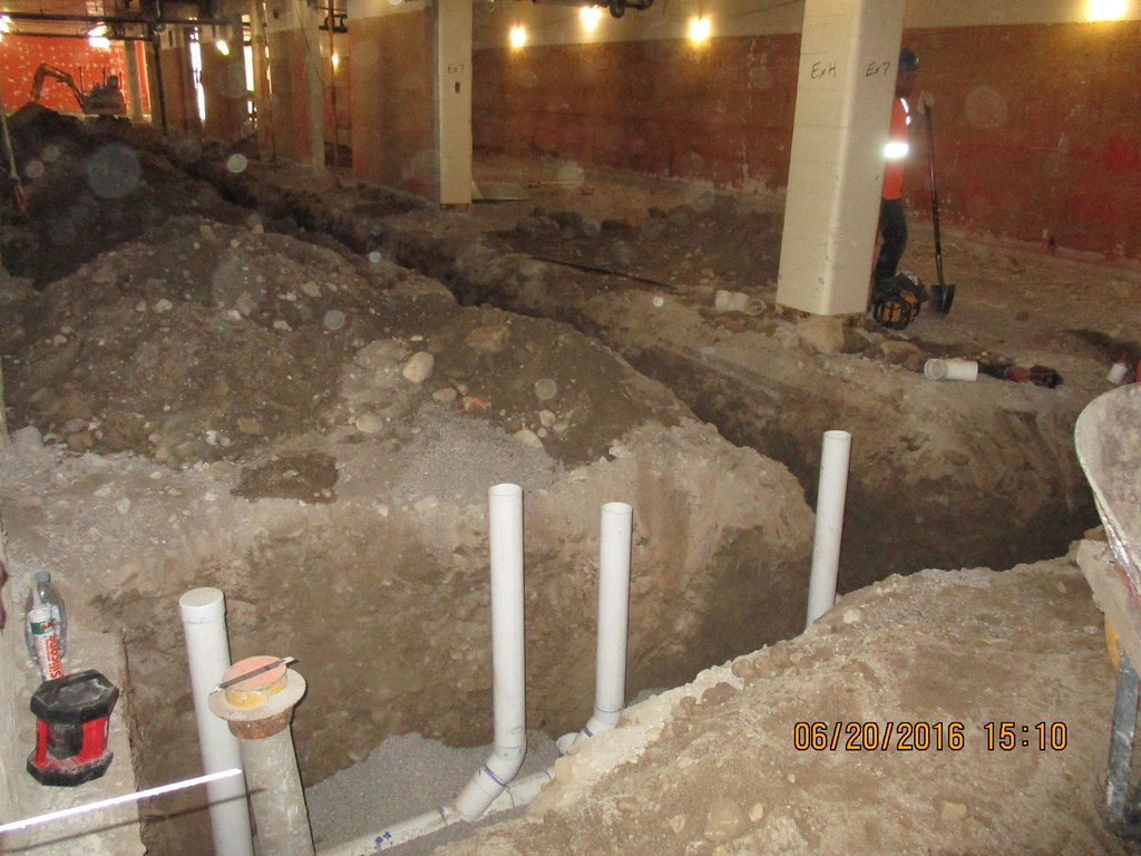 Underground plumbing rough in | City of Guelph | Flickr
