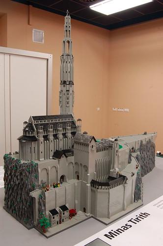Lego Minas Tirith DSC_3133