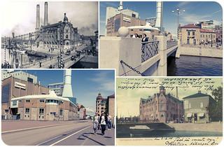 Gothenburg, Inom Vallgraven 1905 / 1922 / 2012