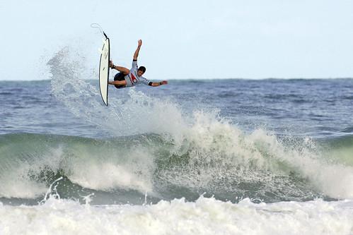 Surfeur Pro à Lacanau