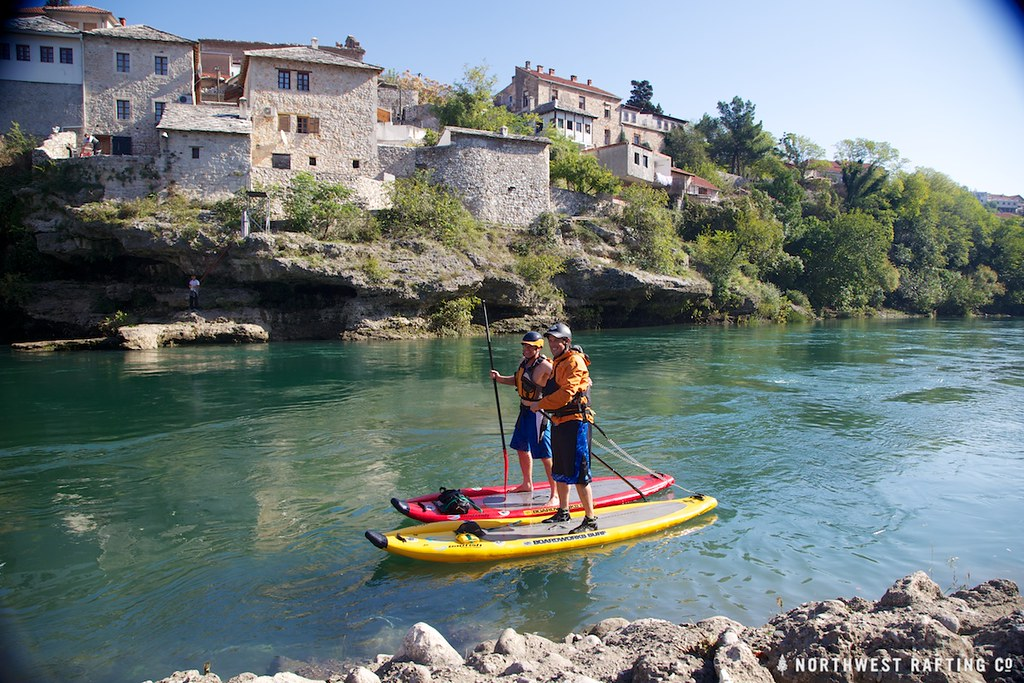 SUP Paddling in Mostar