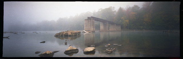 Misty Bridge (Pinhole)