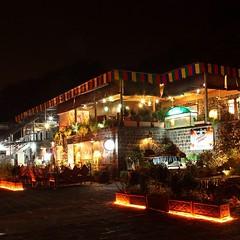 Night Scene | Des Pardes Restaurant | Winter 2013 | #Saidpur Village | #Islamabad, Pakistan