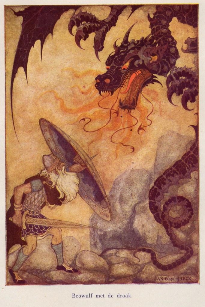 Anton Pieck Helden der mensheid 1941 ill Beowulf a | Flickr