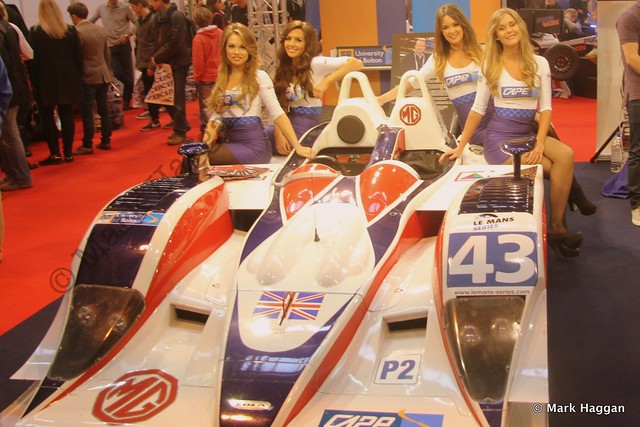 The University of Bolton display at the Autosport International Show 2014