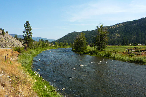 Nicola River near Spences Bridge, Thompson Okanagan, British Columbia, Canada