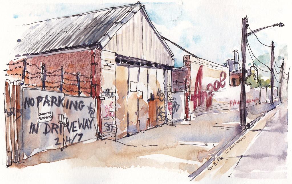 Anzol paint factory, Mortlake, NSW