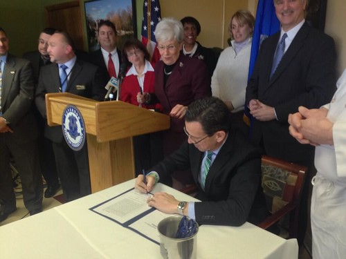 Minimum wage bill signing ceremony | by Office of Governor Dan Malloy