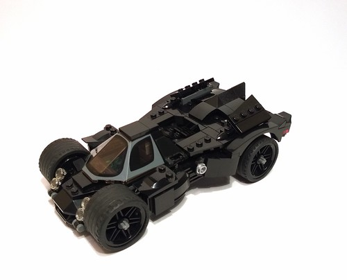 Arkham Knight: The Batmobile