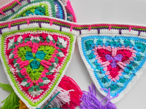 Candy mandala bunting 014 | by chileanhands