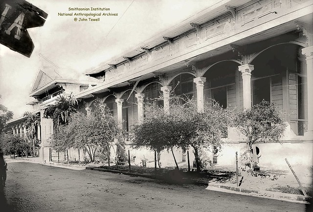 Manila High School, Intramuros, Manila, Philippines, early 1900s (12)