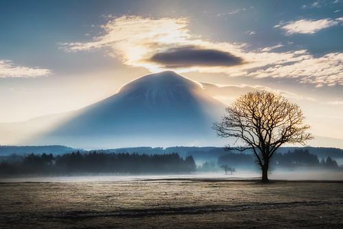fuji fujinomiya fujisan japan cloud dawn fog fumotopara light morning mount mountain shizuoka sunrise fujifilm xt1 fujinomiyashi shizuokaken jp