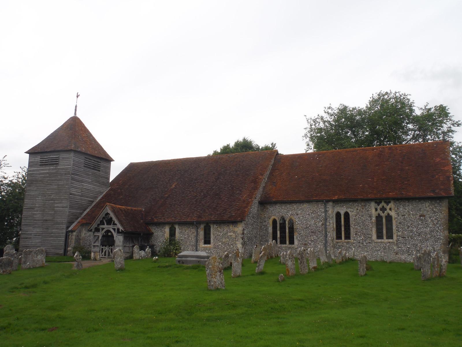 St. Mary's, Michelmersh SWC Walk 265 - Dean to Mottisfont and Dunbridge