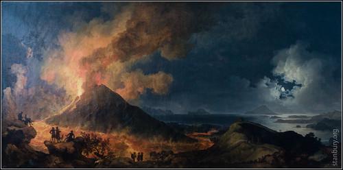 england unitedkingdom naples vesuvius warwickshire eruption comptonverney pierrejacquesvolaire stratfordonavondistrict