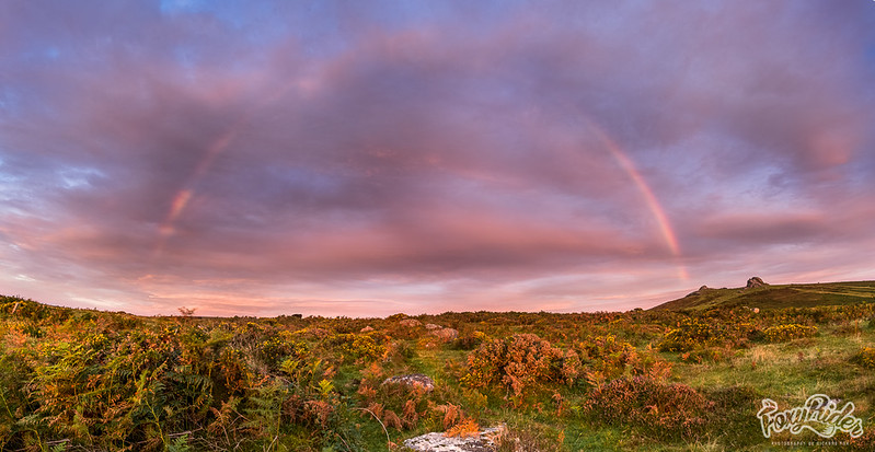 Haytor Sunrise Rainbow