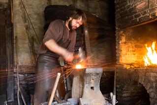 medieval blacksmith | by hans s