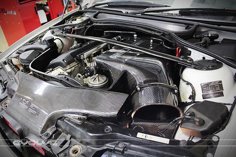 BMW E46 M3 Carbon Airbox Evolve Alpha N ECU Tune Dyno | Flickr