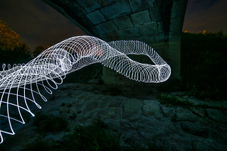 "Lightpainting | by "" Bernhard Witt """