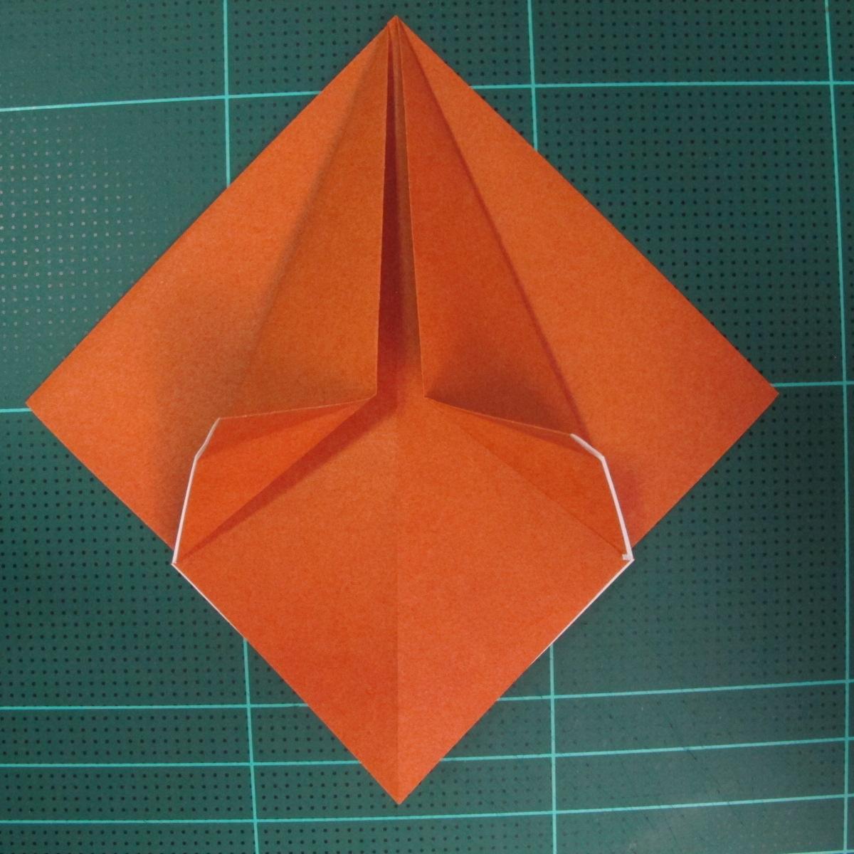 การพับกระดาษเป็นที่คั่นหนังสือหมีแว่น (Spectacled Bear Origami)  โดย Diego Quevedo 009