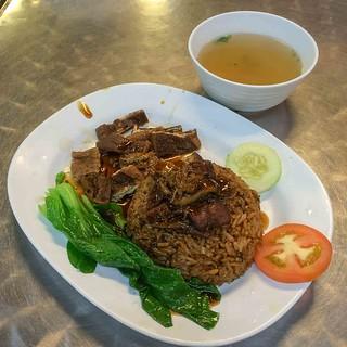 vegetarian_villas_duck_rice | by littlegreenwok