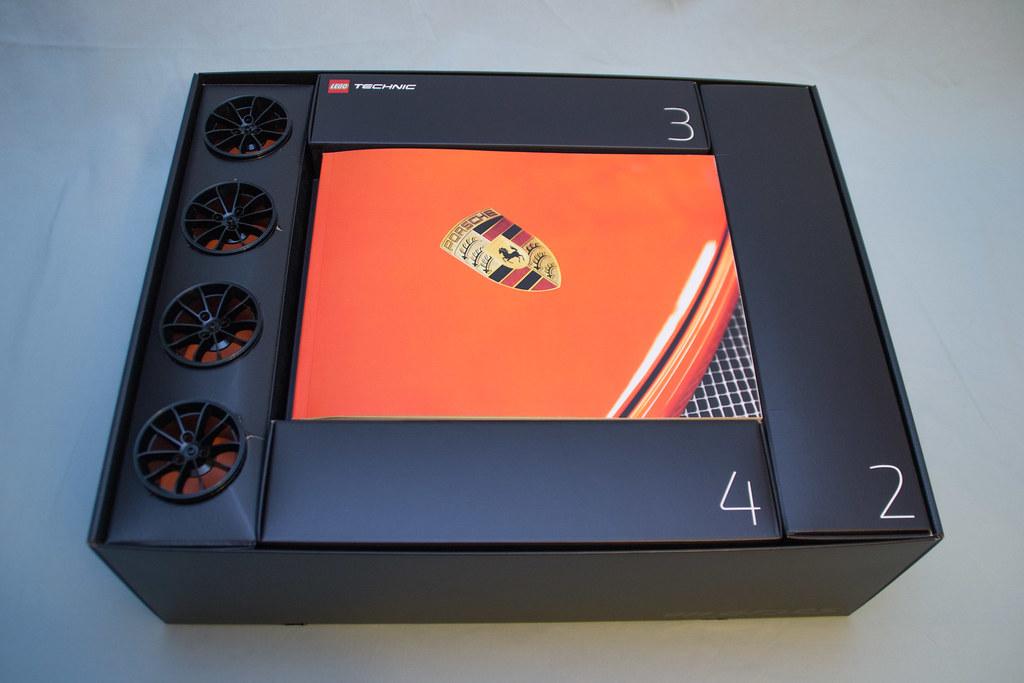 42056 Lego Technic Porsche 911 Gt3 Rs Box Inside Flickr