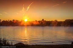 Breaking Dawn at Waterfront Park