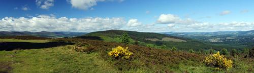 panorama cloud scotland aberdeenshire hills scolyhill