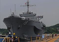 USS Blue Ridge file photo. (U.S. Navy/MC3 Kevin A. Flinn)