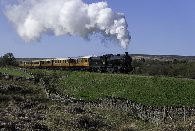 Steaming On The Moors